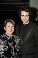 Dumas and his mother - avec sa mere, <br /> DUMAS, CD Launch - Lancement d'album - FIXER LE TEMPS, Nov 27 2006<br /> (c) : 2006, Images Distribution
