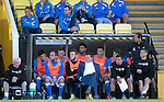East Fife v St Johnstone...09.07.14  Pre-Season Friendly<br /> Tommy Wright looks relaxed in the dugout<br /> Picture by Graeme Hart.<br /> Copyright Perthshire Picture Agency<br /> Tel: 01738 623350  Mobile: 07990 594431