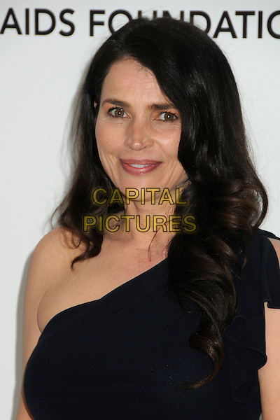 Julia Ormond.20th Annual Elton John Academy Awards Viewing Party held at West Hollywood Park, West Hollywood, California, USA..February 26th, 2012.headshot portrait black one shoulder .CAP/ADM/BP.©Byron Purvis/AdMedia/Capital Pictures.