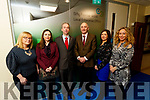 Pictured are members of the Local Enterprise Office Kerry Team in Kerry County Council, are l-r: Lisa O'Carroll (Business Advisor), Bríd Bowler (Administration), Victor Sheahan (Senior Enterprise Development Officer) and Tomás Hayes (Head of Local Enterprise) Eilish O'Donoghue (Administration), Fiona Leahy (Business Advisor), .