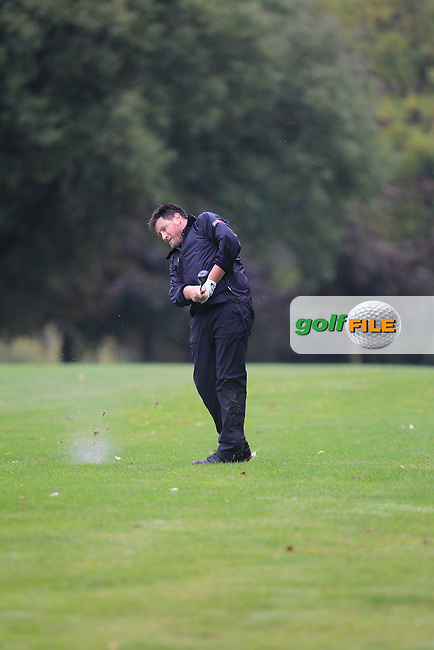 Gerry Burns (Corrstown) during Practice day for the AIG Cups &amp; Shields Finals in Royal Tara Golf Club on Tuesday 17th September 2013.<br /> Picture:  Thos Caffrey / www.golffile.ie