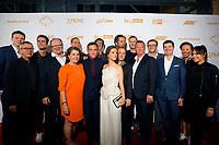 LOS ANGELES - OCT 6: Cast, Crew at the Babylon Berlin International Premiere held at The Theatre at Ace Hotel on October 6, 2017 in Los Angeles, CA