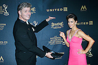 LOS ANGELES - May 1: Harlan Boll, Renee Marino at The 43rd Daytime Emmy Awards Gala at the Westin Bonaventure Hotel on May 1, 2016 in Los Angeles, California