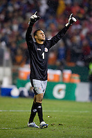 Keilor Navas. The USMNT tied Costa Rica, 2-2, during the FIFA World Cup Qualifier at  RFK Stadium, in Washington, DC.   With the result, the USMNT qualified for the 2010 FIFA World Cup Finals in South Africa.