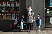 Pictured: Local resident Jodie Painter in Llangennech, west Wales. Thursday 24 February 2017<br />