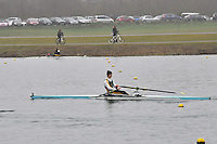 098 WindsorBoysSch J16A.1x..Marlow Regatta Committee Thames Valley Trial Head. 1900m at Dorney Lake/Eton College Rowing Centre, Dorney, Buckinghamshire. Sunday 29 January 2012. Run over three divisions.