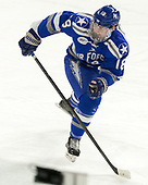 Evan Feno (AFA - 18) - The Harvard University Crimson defeated the Air Force Academy Falcons 3-2 in the NCAA East Regional final on Saturday, March 25, 2017, at the Dunkin' Donuts Center in Providence, Rhode Island.