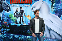 "LOS ANGELES - FEB 9:  Gerard Butler at the ""How To Train Your Dragon: The Hidden World""  Premiere at the Village Theater on February 9, 2019 in Westwood, CA"