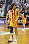 Catalunya vs Montenegro: 83-57.<br /> Cristina Hurtado.