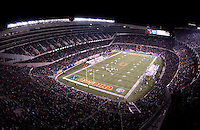 opening night of the 'new' soldier field in chicago, new home of the bears.