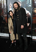 Lisa Bonet + Jason Momoa @ the premiere of 'Live By Night' held @ the Chinese theatre. January 9, 2017