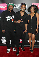 NEW YORK, NY - JANUARY 14: Craig Wayans, Damien Wayans and Tatyana Ali at the BET Networks Premiere of Real Husbands of Hollywood' And Second Generation Wayans at  the SVA Theater on January 14, 2013 in New York City. Credit: RW/MediaPunch Inc.