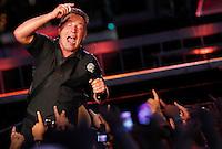 Napoli The Boss Bruce Springsteen durante il concerto in Piazza Plebiscito