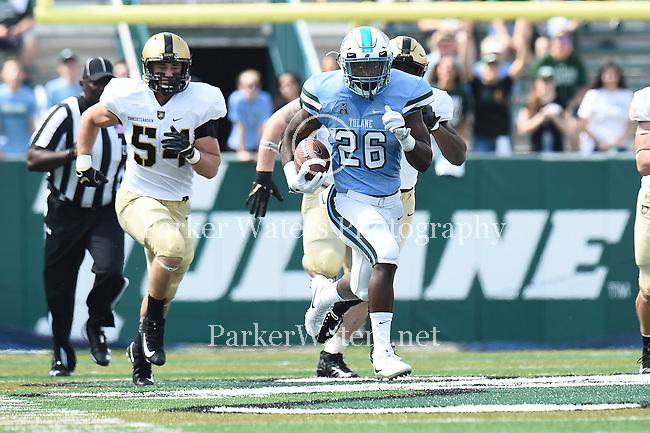 Tulane downs Army, 21-17.