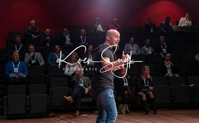 BUSSUM - Standup commedian Jochen Otten    Nationaal Golf Congres & Beurs. COPYRIGHT KOEN SUYK