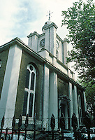 Sir John Soane: St. John, Bethnal Green, 1825-28. Photo '87.