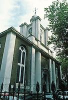 Sir John Soane: St. John, Bethnal Green, 1825-28. Photo '87.