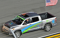 18-19 February, 2016, Daytona Beach, Florida USA<br /> Driver Introduction Tundra<br /> ©2016, F. Peirce Williams