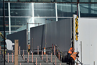 Tottenham Hotspur Stadium work in progress at  High Road (White Hart Lane), London, England on 18 October 2018. Photo by Vince  Mignott.