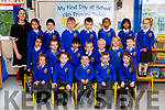 Sandra Casey's class of Junior Infants in CBS National School, Tralee on Thursday.<br /> Front L-R Lilah King Tully, Ciara Cronin, Kayden Ward O Brien, Kyle Hill Lynch, Kourtney Moroney Connolly<br /> Middle L-R Ezina Tanveer, Jack Fitzgerald, Muhammed Ali Buttar, Kaelen Daly, Szymon Krolak, Ruby O Carroll, Ben Smith<br /> Back L-R Chloe Vysocanska, Adam Isufi, Jack Houlihan, Robbie Powell, Ashaz Althaaf, Advitha Tharun, Betty Bonette.
