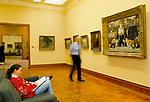 Courtauld art gallery Somerset House London 1990s UK