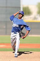 Elisaul Pimentel - Los Angeles Dodgers, 2009 Instructional League.Photo by:  Bill Mitchell/Four Seam Images..