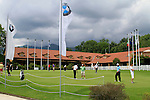 The putting green and clubhouse during Day 2 of the BMW Italian Open at Royal Park I Roveri, Turin, Italy, 10th June 2011 (Photo Eoin Clarke/Golffile 2011)