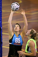 16.09.2016 Silver Ferns Mia Wilson in action during traning ahead of the last Taini Jamison netball match between the Silver Ferns and Jamaica to be played in Rotorua. Mandatory Photo Credit ©Michael Bradley.