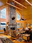 Architecture: Interiors: Log Buildings