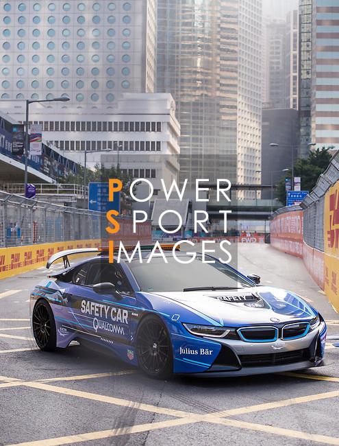 Safety car during the FIA Formula E Hong Kong E-Prix Round 2 at the Central Harbourfront Circuit on 03 December 2017 in Hong Kong, Hong Kong. Photo by Marcio Rodrigo Machado / Power Sport Images