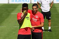 Mijat Gacinovic (Eintracht Frankfurt) und Nelson Mandela Mbouhom (Eintracht Frankfurt) - 24.07.2018: Eintracht Frankfurt Training, Commerzbank Arena