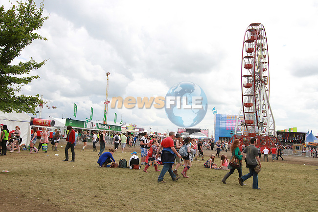 Day 2 of the Oxegen Festival, Punchestown, Co.Kildare...(Photo credit should read Jenny Matthews www.newsfile.ie)....This Picture has been sent you under the conditions enclosed by:.Newsfile Ltd..The Studio,.Millmount Abbey,.Drogheda,.Co Meath..Ireland..Tel: +353(0)41-9871240.Fax: +353(0)41-9871260.GSM: +353(0)86-2500958.email: pictures@newsfile.ie.www.newsfile.ie.