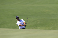 Adam Scott (AUS) chips onto the 16th green during Thursday's Round 1 of the 118th U.S. Open Championship 2018, held at Shinnecock Hills Club, Southampton, New Jersey, USA. 14th June 2018.<br /> Picture: Eoin Clarke | Golffile<br /> <br /> <br /> All photos usage must carry mandatory copyright credit (&copy; Golffile | Eoin Clarke)