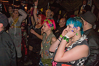 Cheering on Mr Shankly; Barnboppers and Shuddervision, Ska-lloween Gig 29 October 2011 The Wagon and Horses, Digbeth,