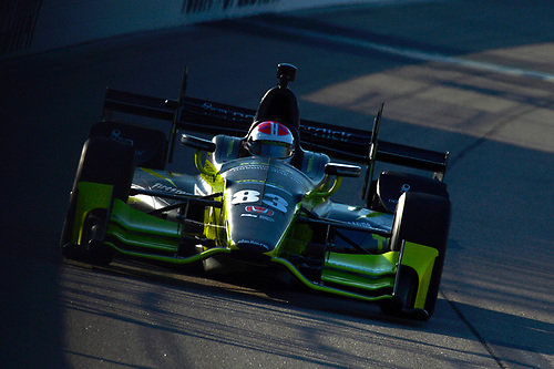 Verizon IndyCar Series<br /> Iowa Corn 300<br /> Iowa Speedway, Newton, IA USA<br /> Saturday 8 July 2017<br /> Charlie Kimball, Chip Ganassi Racing Teams Honda<br /> World Copyright: F. Peirce Williams<br /> LAT Images