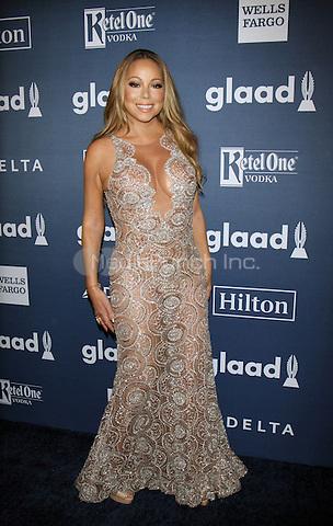 NEW YORK, NY-May 14: Mariah Carey at 27th Annual GLAAD Media Awards at The Waldorf=Astoria in New York. NY May 14, 2016. Credit:RW/MediaPunch