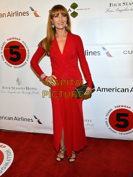 26 February 2014 - Los Angeles, California - Jane Seymour. TheWrap.com Pre-Oscar Party held at Culina Restaurant at the Four Seasons Hotel. <br /> CAP/ADM/CC<br /> &copy;CC/AdMedia/Capital Pictures
