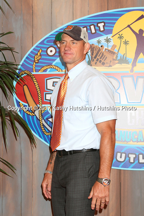 """LOS ANGELES - MAY 24:  Brad Culpepper at the """"Survivor: Game Changers - Mamanuca Islands"""" Finale at the CBS Studio Center on May 24, 2017 in Studio City, CA"""