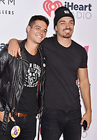 CARSON, CA - JUNE 01: Wells Adams (L) and Dean Unglert attend 2019 iHeartRadio Wango Tango at The Dignity Health Sports Park on June 01, 2019 in Carson, California.<br /> CAP/ROT/TM<br /> ©TM/ROT/Capital Pictures
