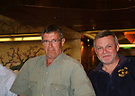 Jordan Clarke and Ron Raines -  Meet & Greet - Day 2 - August 1, 2010 - So Long Springfield at Sea aboard Carnival's Glory (Photos by Sue Coflin/Max Photos)