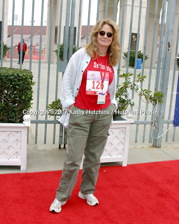 Deidre Hall.Revlon Run/Walk LA 2007.Los Angeles, CA.May 12, 2007.©2007 Kathy Hutchins / Hutchins Photo....