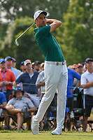 Ross Fisher (ENG) watches his tee shot on 6 during 4th round of the 100th PGA Championship at Bellerive Country Club, St. Louis, Missouri. 8/12/2018.<br /> Picture: Golffile   Ken Murray<br /> <br /> All photo usage must carry mandatory copyright credit (© Golffile   Ken Murray)