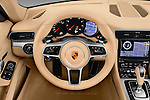Car pictures of steering wheel view of a 2017 Porsche 911 Carrera 2 Door Convertible Steering Wheel