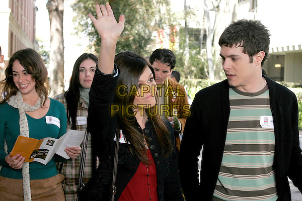 "RACHEL BILSON & ADAM BRODY.in The O.C..OC.""The College Try"".*Editorial Use Only*.www.capitalpictures.com.sales@capitalpictures.com.Supplied by Capital Pictures."