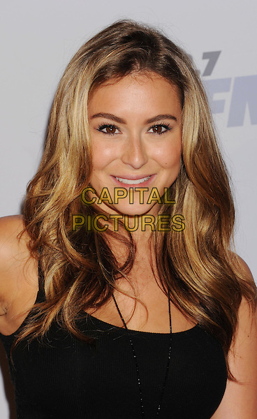 Alexa Vega.The KIIS FM's Jingle Ball 2012 held at Nokia Theatre L.A. Live in Los Angeles, California, USA..December 3rd, 2012.headshot portrait  black .CAP/ROT/TM.©Tony Michaels/Roth Stock/Capital Pictures