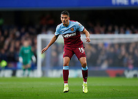 30th November 2019; Stamford Bridge, London, England; English Premier League Football, Chelsea versus West Ham United; Pablo Fornals of West Ham United  - Strictly Editorial Use Only. No use with unauthorized audio, video, data, fixture lists, club/league logos or 'live' services. Online in-match use limited to 120 images, no video emulation. No use in betting, games or single club/league/player publications