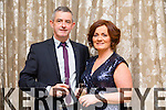 Christy and Geraldine Counihan from Listellick enjoying the Lee Strand social on Saturday night at the Pavilion in Ballygarry House Hotel