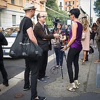 Secondo giorno della Settimana della Moda a Milano edizione 2013: le scarpe Zaha Hadid per United Nude<br /> <br /> Second day of Milan Fasion Week 2013 edition: Zaha Hadid's shoes for United Nude