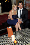 Leanna Rimes and Eddie Cibrian dine at Lavo restuarant after the Academy of Country