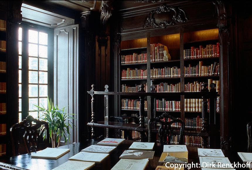 China, Macao, Largo de Senado, Bibliothek